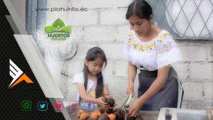 Carabuela Huertos Familiares PilahuinTio