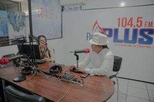 gira de medios por las radios de santo domingo de los Tsáchilas